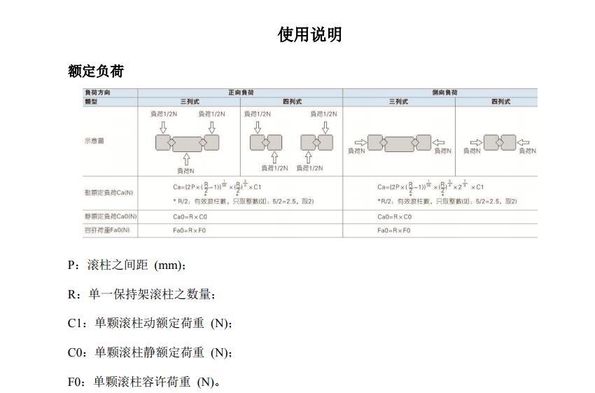 亞德客LGC係列交叉滾柱導軌使用說明1